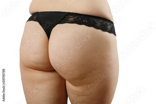 Fotografie, Obraz  fat female buttocks
