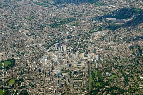 Croydon, Aerial View