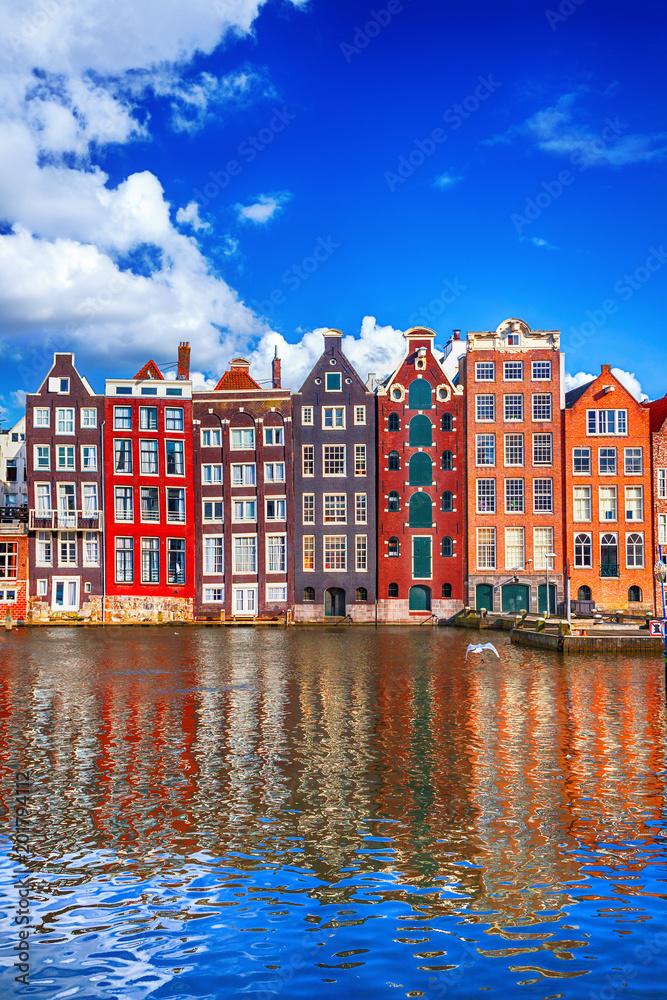 Fényképezés Houses in Amsterdam
