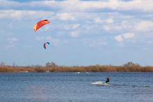 Kitesurfing In The Flooded Mea...