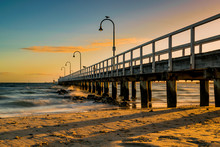 Lagoon Pier, Port Melbourne Beach, Australia