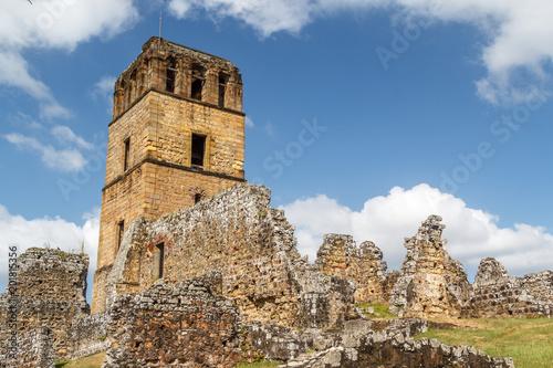 Fényképezés  Ruins of Panama Viejo, UNESCO World heritage site, Panama