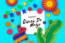 Happy Cinco De Mayo Greeting C...
