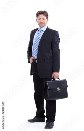 Fotografie, Obraz  in full growth. portrait of a successful businessman