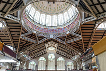 Central Market In The City Of Valencia, Spain