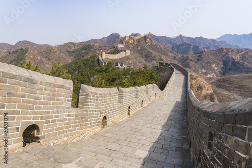 Fotobehang Chinese Muur Jinshanling Great Wall
