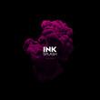 Colorful ink splash.