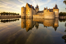 The Chateau Of Sully-sur-Loire...