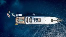 Super Yacht In Sardinia, Italy