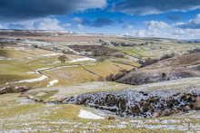 Winter Yorkshire Landscape