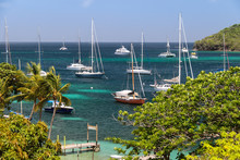 Sailing Boats In Bequia