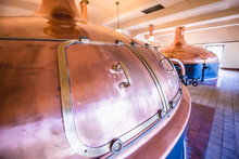 Copper Brewing Tank Inside The...