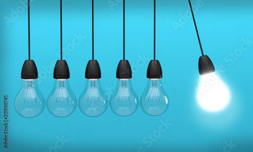 Photo ampoule idée lumière innovation créativité