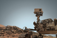Curiosity Mars Rover Exploring...
