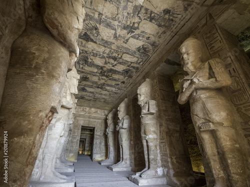Fotografia, Obraz  Abu Simbel Temple in Aswan Egypt