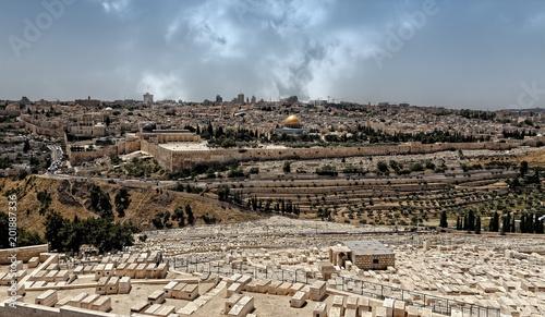 Fotografía Jerusalem, Mount of Olives Jewish Cemetery