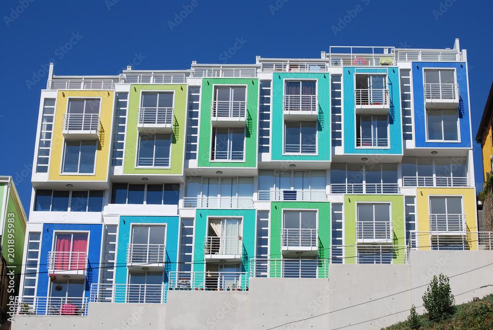 Fototapety, obrazy: Lofts de couleur