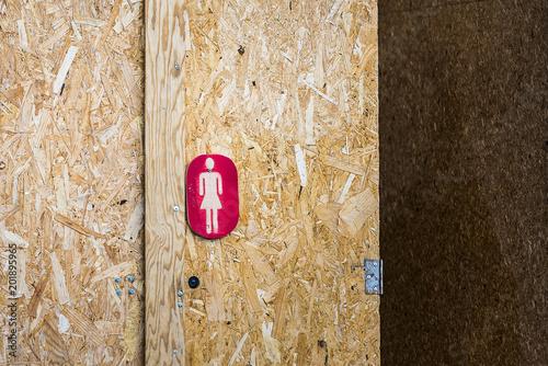 Symbole Indiquant Toilettes Femme Buy This Stock Photo And Explore