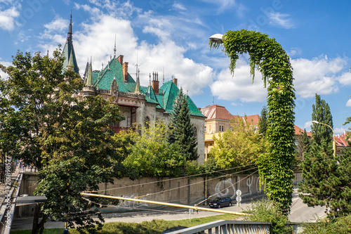 Foto op Aluminium Rudnes View of Jakabov Palace in the old town in Kosice, Slovakia