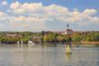 canvas print picture - Blick auf Diessen am Ammersee vom Wasser aus