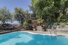 Swimming Pool Of Private Villa