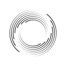 Concentric Circle Elements Bac...