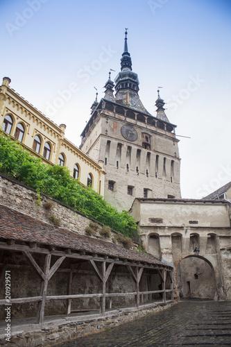 Fotografie, Obraz  Sighisoara medieval town in Romania