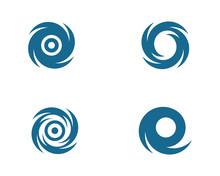 Vortex Vector Illustration Icon Logo