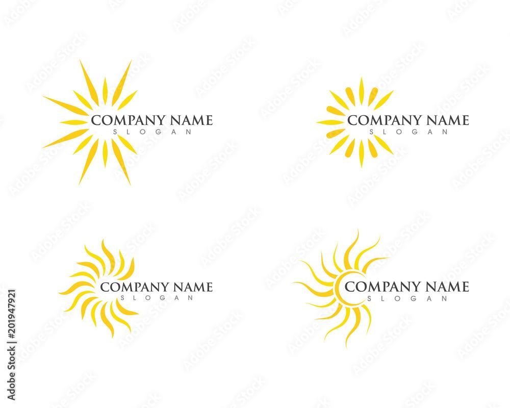 Fototapety, obrazy: Sun Vector illustration Icon Logo