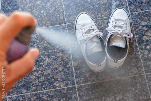 Fotografie, Obraz  靴の消臭シーン