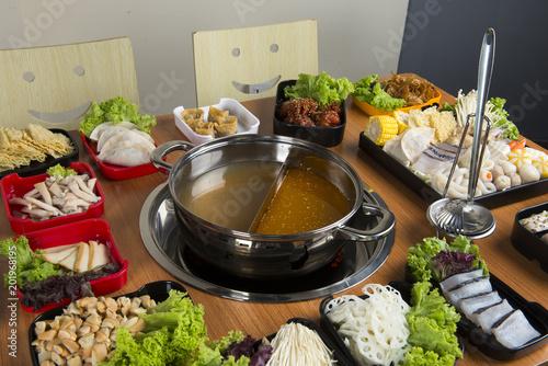 Fotografie, Obraz  hot pot with double flavour