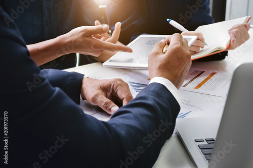 Fotomural Business Finance, accounting, contract, advisor investment consulting marketing plan for the company with using tablet and computer technology in analysis