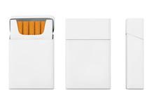 Mockup Blank Cigarettes Pack S...