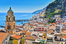 Amalfi In The Province Of Sale...