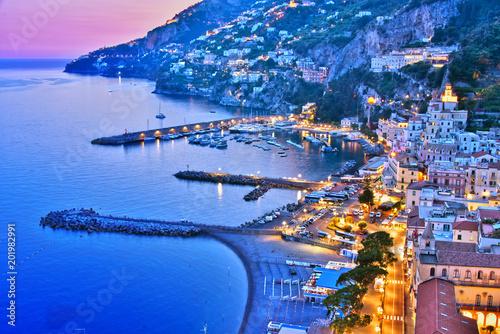Fotografia Amalfi in the province of Salerno, Campania, Italy