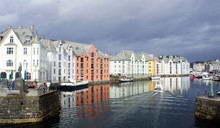 Alesund, Norway - View Of Colo...