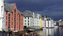 Alesund, Norway - Picturesque ...