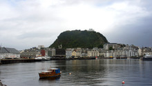 Alesund, Norway - Scenic View ...