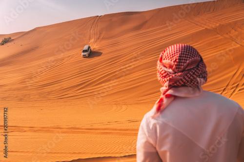 Poster Moyen-Orient Desert dune bashing