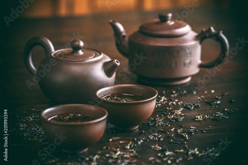 Staande foto Thee Set for tea ceremony