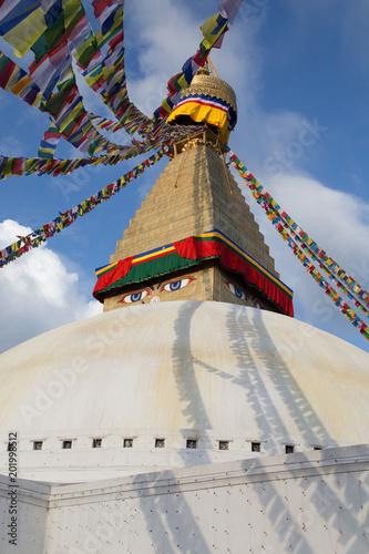 Staande foto Nepal boudhanath