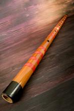 Wooden Asian Flute