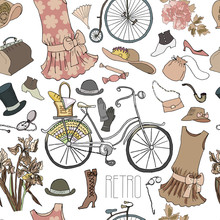 Bicycle And Vintage Accessorie...