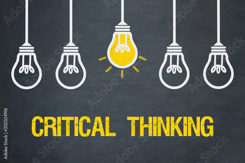 Obraz Critical thinking - fototapety do salonu