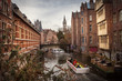 Ghent canals, Belgium