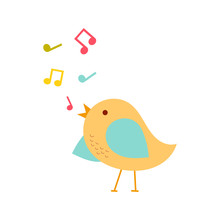 Colorful Singing Bird