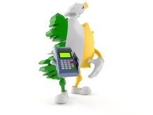 Ireland Character Holding Cred...