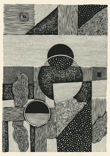 rysowanie-poltonowych-tekstur-recznie-rysowane-abstrakcyjne-tlo-ilustracja-wektorowa
