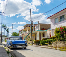 Cuba, Street With Car