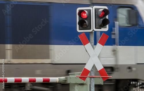 Fotografia, Obraz  Bahnübergang